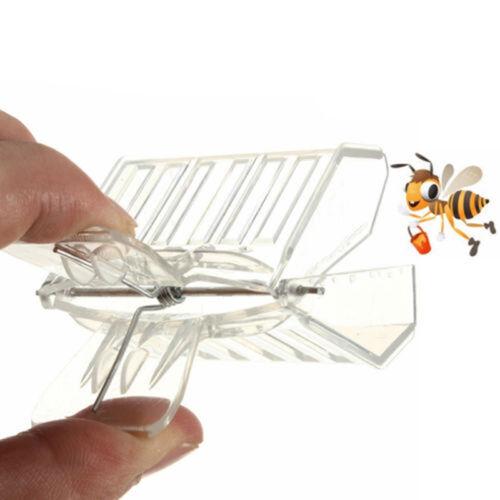 5X Plastic Queen Cage Clip Bee Catcher Beekeepers Beekeeping Tool EquipmSN