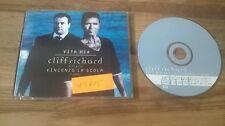 CD Pop Cliff Richard / Vincenzo La Scola - Vita Mia (1 Song) Promo EMI REC sc