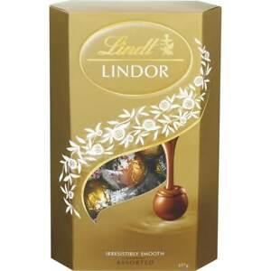 Details About Lindt Lindor Asorted Chocolate Truffles Cornet 200g Christmas Gift Uk Pack Of 2