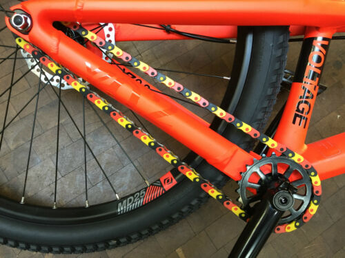 Chain Cover Kettenschutz Fixie Single Speed BMX Dirt Rohloff Alfine Nexus Tandem