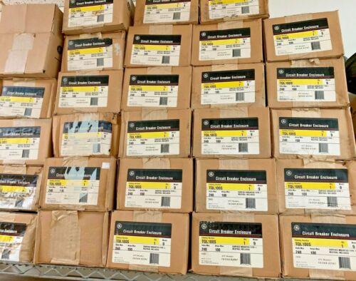 Overstock GE TQL100S 100 Amp 240 Volt Ciruit Breaker Enclosure Nema 1