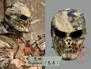 Skull-Full-Face-Mask-Outdoor-Play-War-Game-Skull-Airsoft-Paintball-Eye-Protect