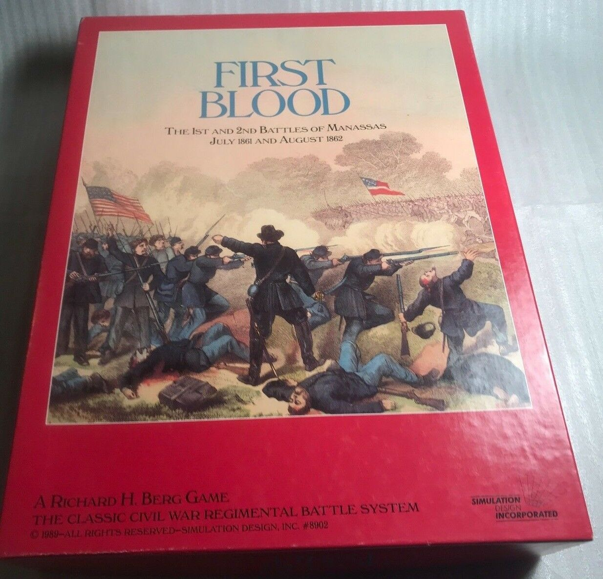 First Blood  The 1st and 2nd Battles of Manassas July 1861 and August 1862
