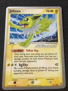 Pokemon-TCG-Jolteon-Gold-Star-101-108-World-Championship-PROMO-Rare