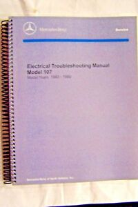 image is loading mercedes-560sl-380sl-owners-electrical-service-manual-w107-