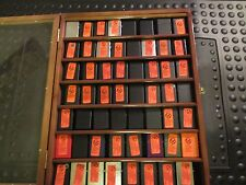 rare 56 harley davidson zippo lighter set collectable collection lot with case