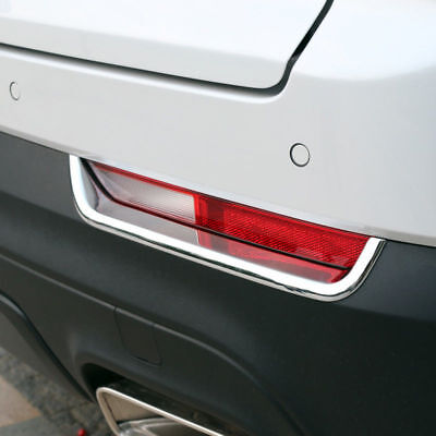 Rear Trunk Tail Lights Lamp Eyelid Eyebrow Cover Trim For Cadillac XT5 2017-2019