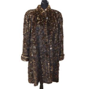 Authentic-CELINE-Logos-Long-Sleeve-Coat-Jacket-Brown-Vintage-Y03059j