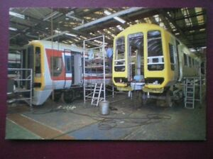 POSTCARD-CLASS-159-LOCOS-FOR-THE-EXETER-LINE-BEING-BUILT