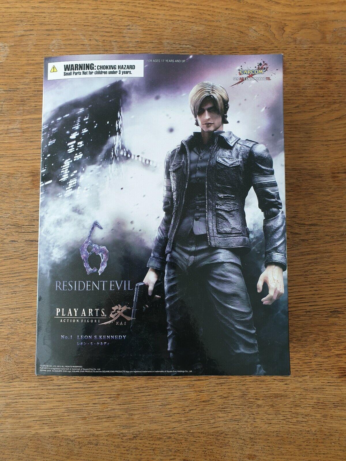 Resident evil 6 - Play Arts - Leon S. Kennedy