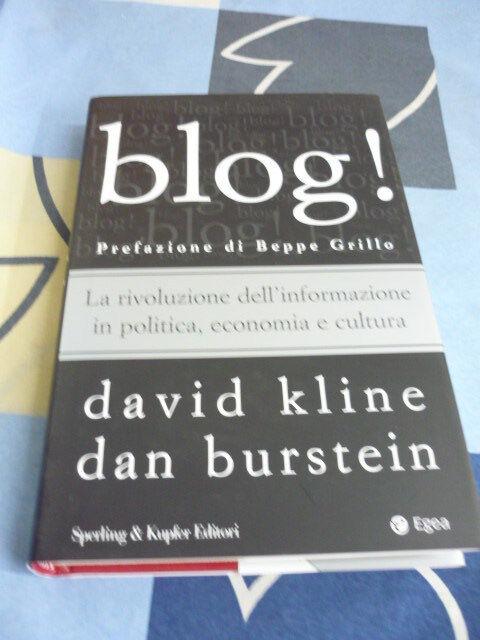 BLOG! DAVID KLINE DAN BURSTEIN