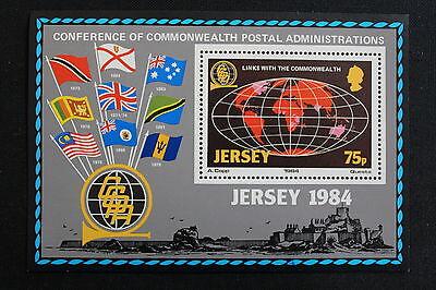 Waren Des TäGlichen Bedarfs Briefmarke Stamp Yvert Und Tellier Block N°3 N Beliebte Marke Insel Jersey cyn2