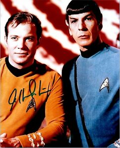 WILLIAM-SHATNER-Signed-Autographed-STAR-TREK-8x10-Pic-A