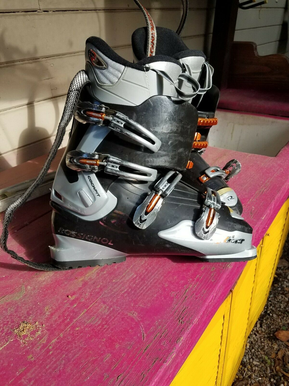 Rossignol Exalt Adult Ski Stiefel - Größe 29.5 Used thermo fit