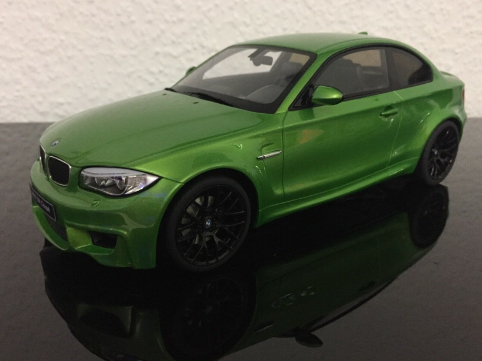 BMW 1er M 1M E82 Green Metallic ZM036 1 18