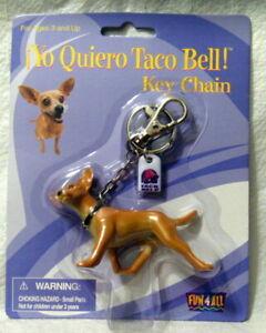Tacobell Dog Running Key Chain MOC