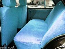 Cotton Towel Car Seat Cover Sky Blue Colour Soft & Cool for Chevrolet Spark