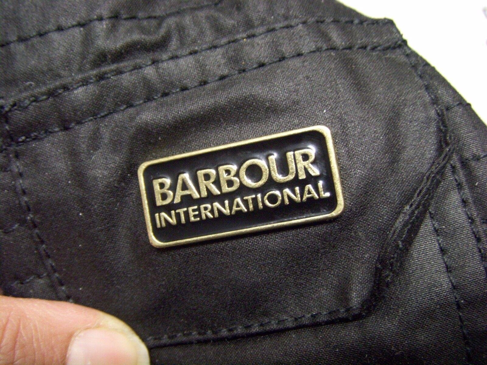 BARBOUR INTERNATIONAL VANIER WAX JACKET Size 4 US - image 9