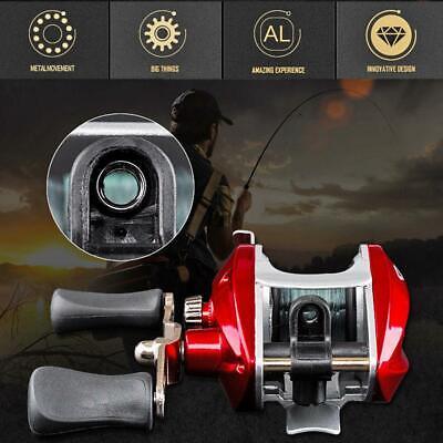 Bearings Waterproof Right Hand Baitcasting Spinning Fishing Reel with Line  714890395725   eBay