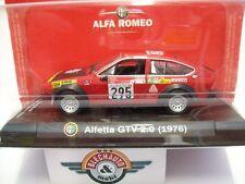 """Alfa Romeo Aletta GTV 2.0 #295 """"Giro dÍtalia"""" 1979, RCS 1:43, OVP"""