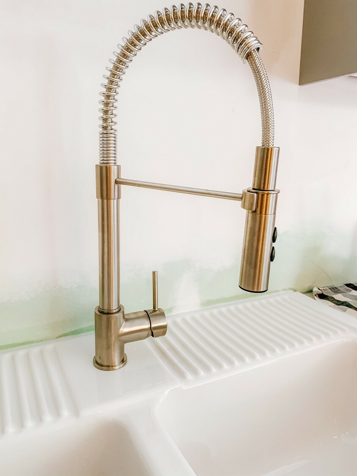Ikea Vimmern Contemporary Single Handle Handspray Stainless Steel Kitchen Faucet For Sale Online