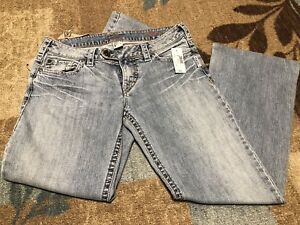 """b64986fe23a New NWT Silver Jeans Red Label Fit Tina Bootcut 30"""" Waist   eBay"""