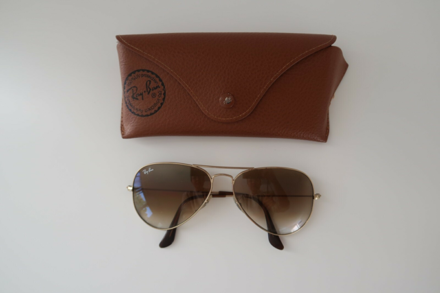 Solbriller dame, Ray Ban, Ray Ban aviator solbriller i…