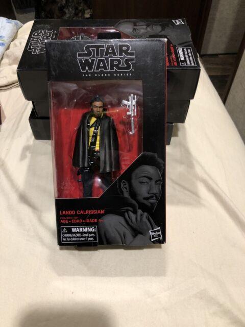 Star Wars The Black Series 6 inch Lando Calrissian 65 Figure Doll New in box