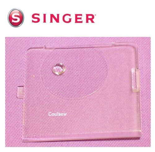 SINGER SEWING MACHINE SLIDE PLATE BOBBIN COVER CLEAR PLASTIC 3709 6510 7312 etc