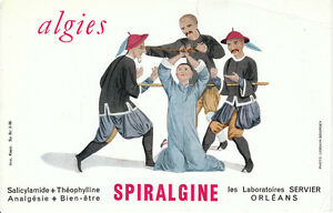 Buvard-Spiralgine-Lalboratoires-Servier