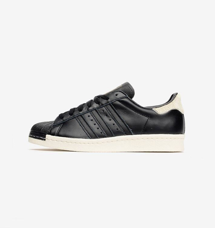 Adidas Superstar 80's  noir  Pony Hair