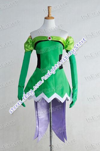Fairy Tail Cosplay The Raijin Tribe Evergreen Costume Dress Halloween Party New