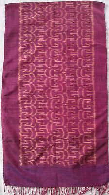 - Écharpe 100% Coton Tbeg Vintage Scarf 45 X 165 Cm Materiali Accuratamente Selezionati