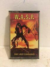Last Command, The by W.A.S.P. (Cassette, Nov-1985, Capitol/EMI Records)