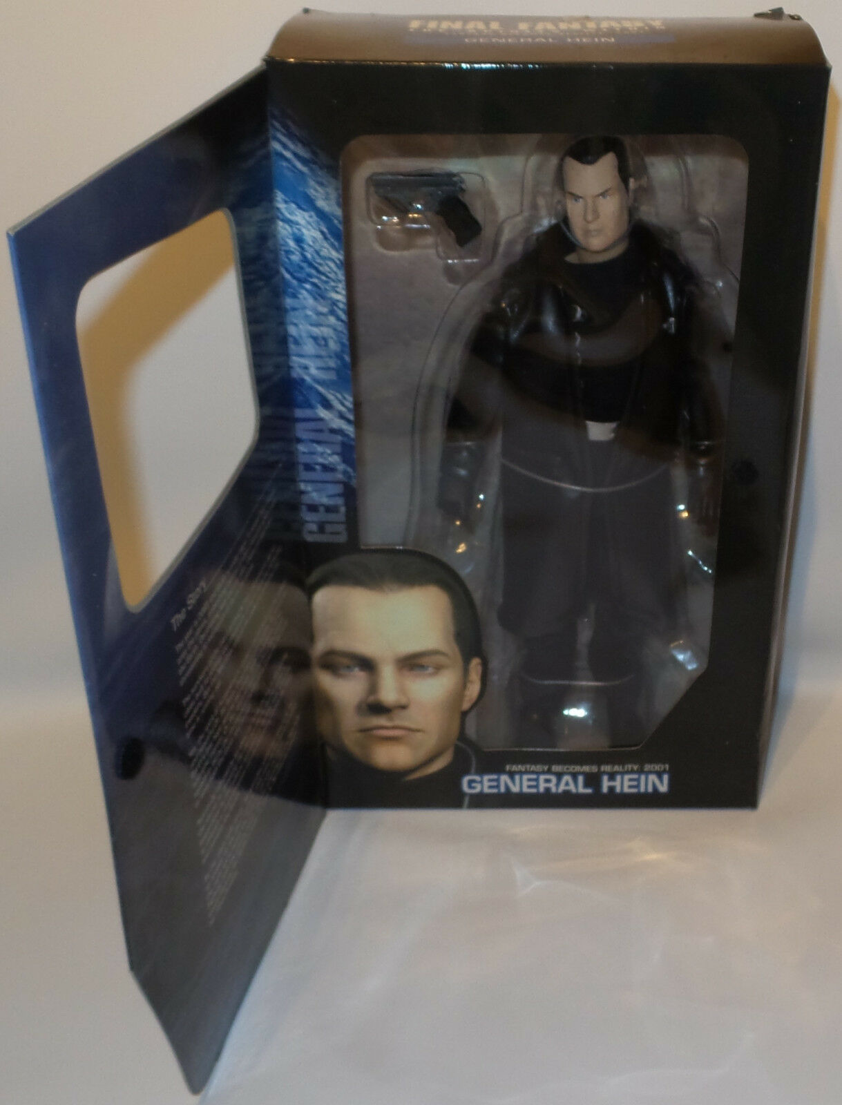 FINAL FANTASY THE THE THE SPIRITS WITHIN   GENERAL HEIN BOXED ACTION FIGURE. (MLFP) 8c2da6