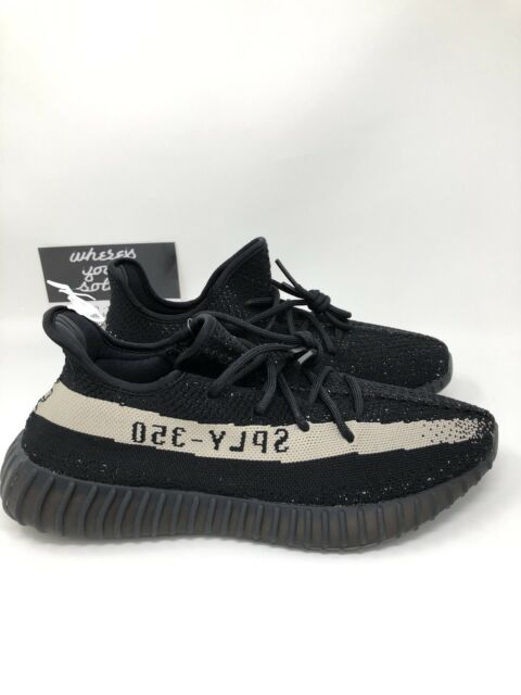 new style ea22c 780fc Adidas Yeezy 350 V2 Boost Core Black White Oreo size 10.5 Kanye NEW DS  BY1604