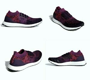 outlet store 78f75 488b8 Adidas UltraBOOST Uncaged Purple Red Blue Running Shoes Mens ...