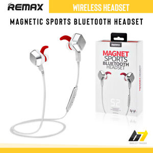 Remax Wireless Headset Bluetooth Handsfree Stereo Earphones For Samsung Iphone Ebay
