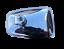 ukscooters-VESPA-LAMBRETTA-HIGHLY-CHROMED-STADIUM-MIRROR-HEAD-X-2-NEW-SQUARE miniatura 5