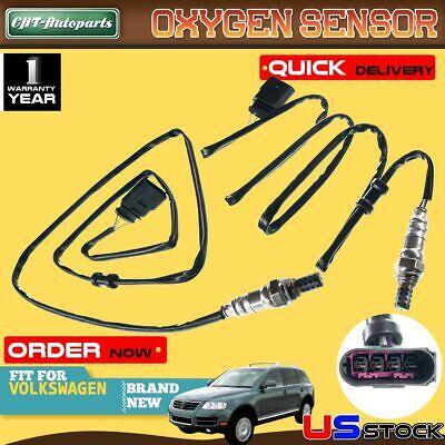 2x O2 02 Oxygen Sensors for Volkswagen Touareg 2004-2007 V8 4.2L AXQ Downstream