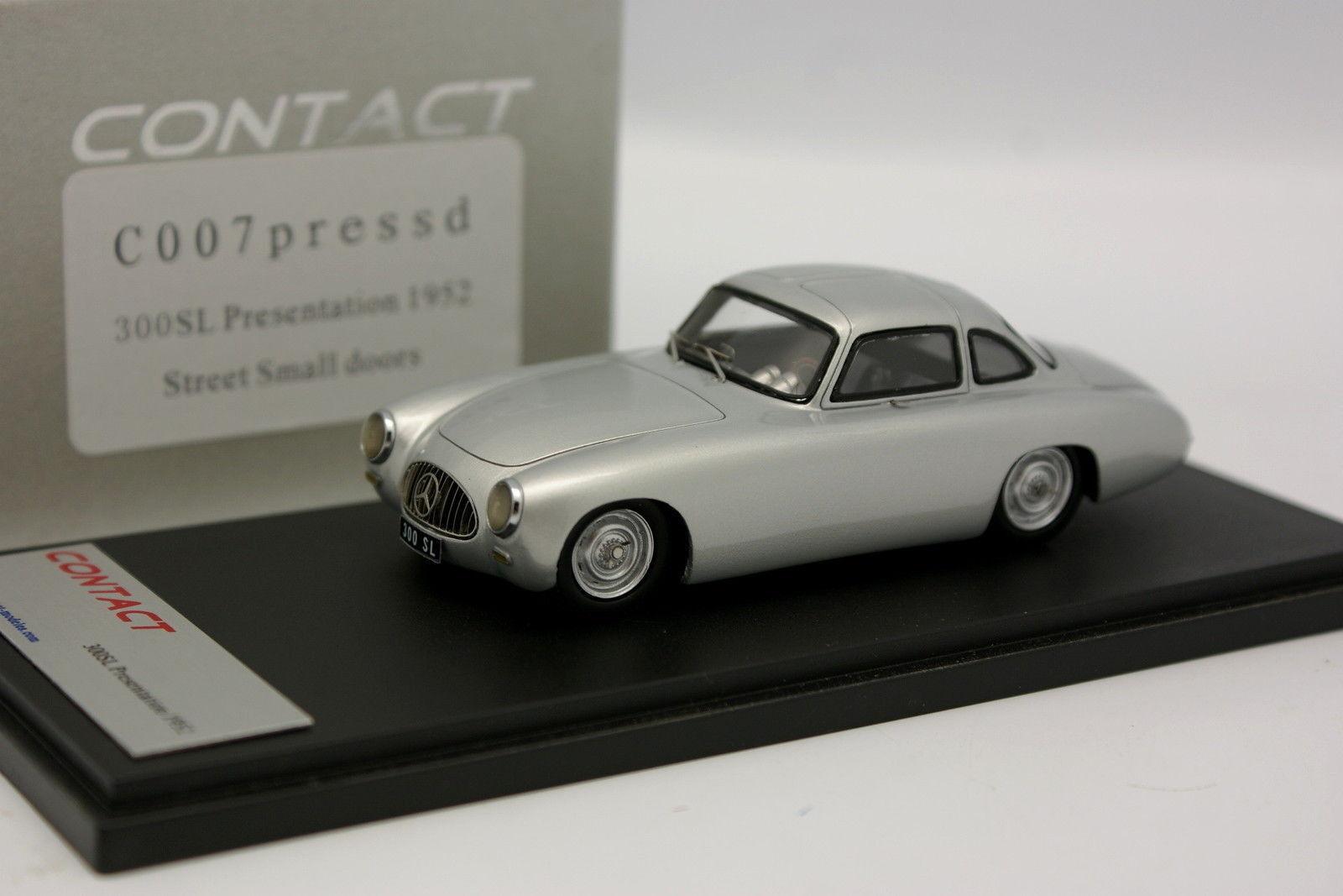 Ilario Contatto 1/43 - Mercedes 300 SL Rappresentanza 1952 Small Porte