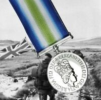 British Medal 1982 SOUTH ATLANTIC - FULL SIZE Falklands War UK Made Army Award
