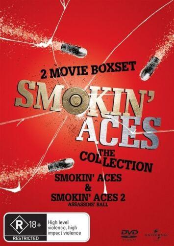1 of 1 - Smokin Aces / Smokin Aces 2 - The Assassins Ball...2 X DISCS..REG 4.NEW & SEALED