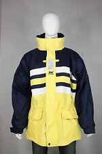 Helly Hansen jacket XXL vintage 90's sailing waterproof parka new blue yellow
