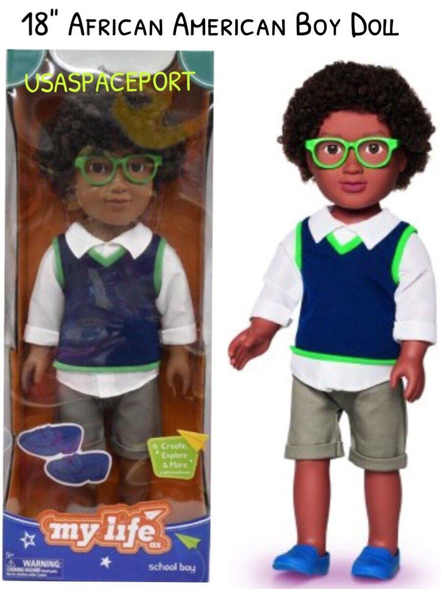 18  Muñeca African American School Niño Ropa Set para mi vida como American Girl AA