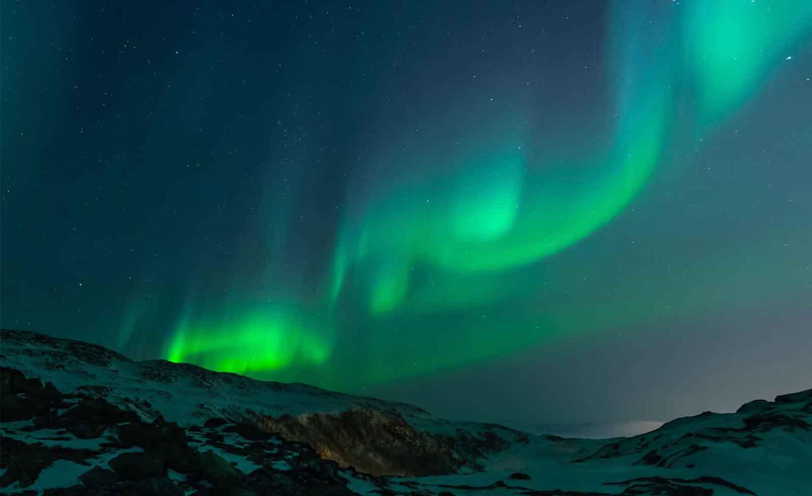 WALL MURAL PHOTO WALLPAPER XXL Northern Lights Aurora Borealis (JD-1299WS)