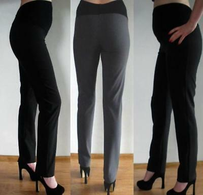 Elegant Maternity Pregnancy Formal Skinny Trousers Without Crease 8 10 12 14 16 Belebende Durchblutung Und Schmerzen Stoppen