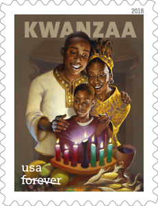 2018 50c Pan-African Family & Culture Kwanzaa Holiday S