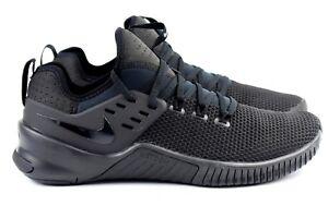 cd84a359aa990 Nike Free X Metcon Mens Size 11.5 Training Shoes Triple Black AH8141 ...