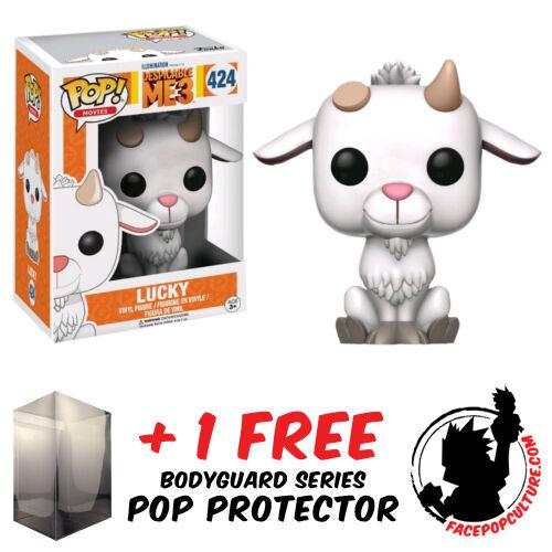 FREE POP PROTECTOR FUNKO POP VINYL DESPICABLE ME 3 LUCKY EXCLUSIVE